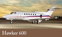 Hawker 600 plane